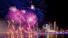 4K Fireworks Photo Free