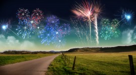 4K Fireworks Photo Free#1