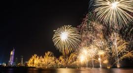 4K Fireworks Wallpaper