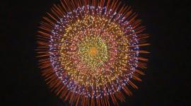 4K Fireworks Wallpaper Background