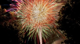 4K Fireworks Wallpaper Download