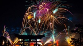 4K Fireworks Wallpaper Download Free