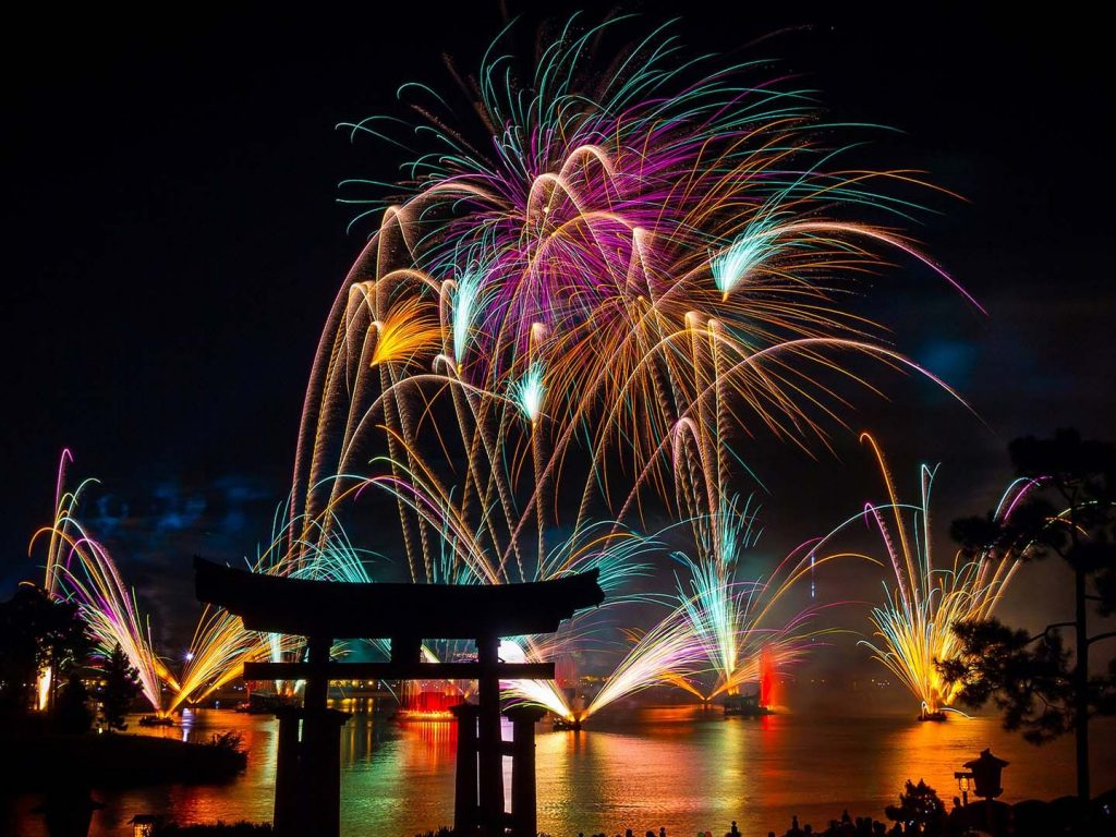 4k Wallpaper: 4K Fireworks Wallpapers High Quality