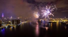 4K Fireworks Wallpaper For Desktop