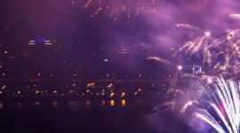4K Fireworks Wallpaper For IPhone