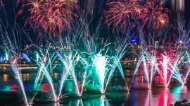 4K Fireworks Wallpaper For IPhone Download