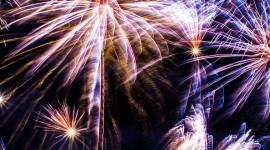 4K Fireworks Wallpaper For The Smartphone