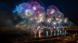 4K Fireworks Wallpaper HQ