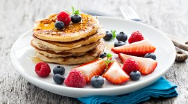 4K Pancakes Photo Free
