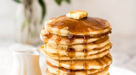4K Pancakes Wallpaper For IPhone Free