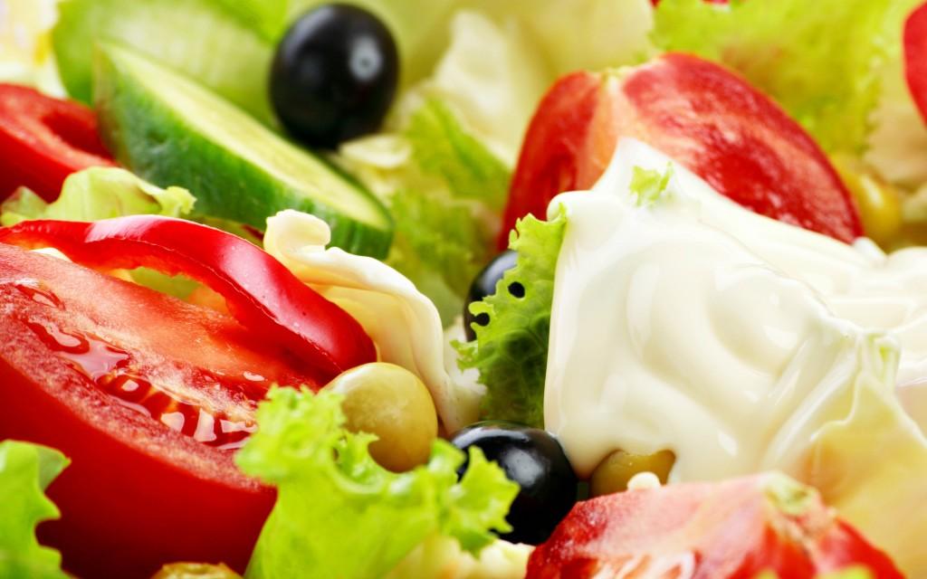 4K Vegetable Salads wallpapers HD