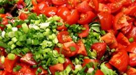 4K Vegetable Salads Wallpaper For Desktop
