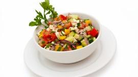 4K Vegetable Salads Wallpaper Gallery