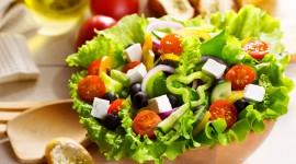 4K Vegetable Salads Wallpaper HQ