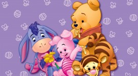 4K Winnie The Pooh Desktop Wallpaper
