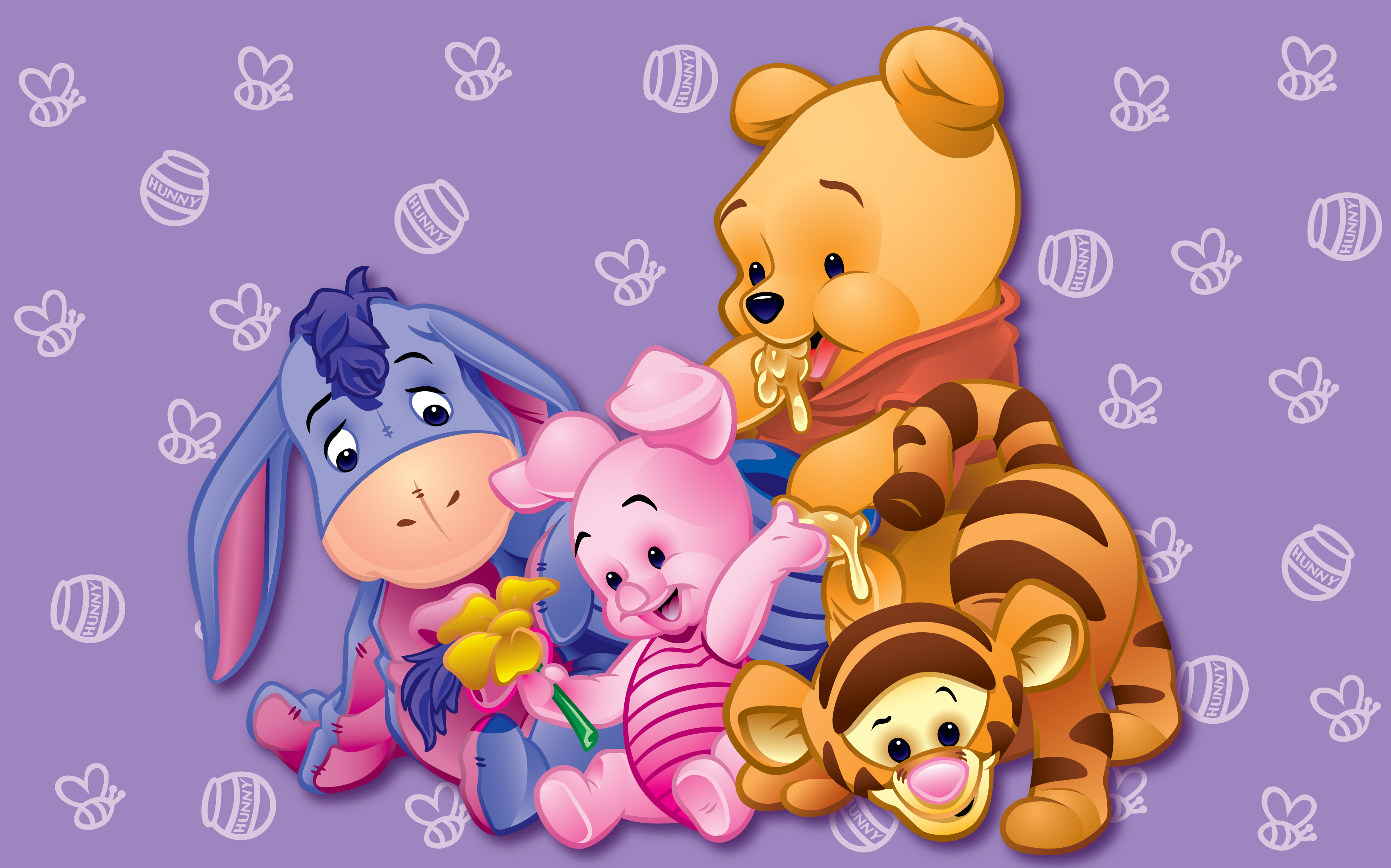 4k Winnie The Pooh Wallpapers High Quality Download Free