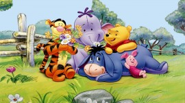 4K Winnie The Pooh Wallpaper Free