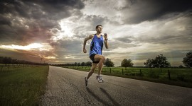 Athletes Runners Desktop Wallpaper HD