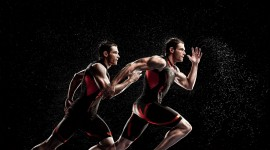 Athletes Runners Wallpaper High Definition