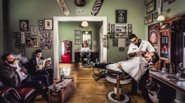 Barbershop Desktop Wallpaper HD