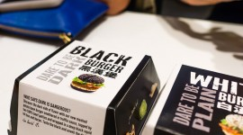 Black Burger Best Wallpaper