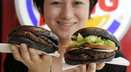 Black Burger Wallpaper 1080p