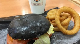 Black Burger Wallpaper