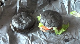 Black Burger Wallpaper For Desktop