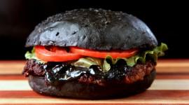 Black Burger Wallpaper Free