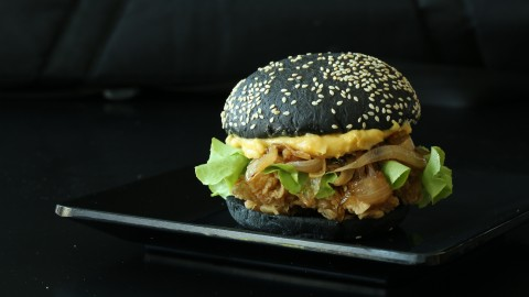 Black Burger wallpapers high quality