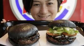 Black Burger Wallpaper HQ
