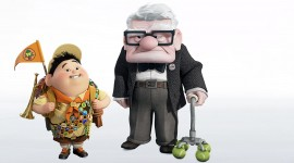 Carl Fredricksen Wallpaper Download