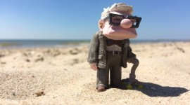 Carl Fredricksen Wallpaper For Desktop