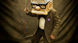 Carl Fredricksen Wallpaper For IPhone