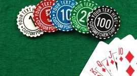 Casino Chip Desktop Wallpaper Free