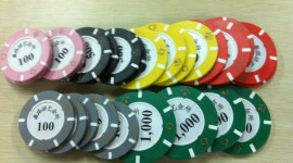 Casino Chip High Quality Wallpaper
