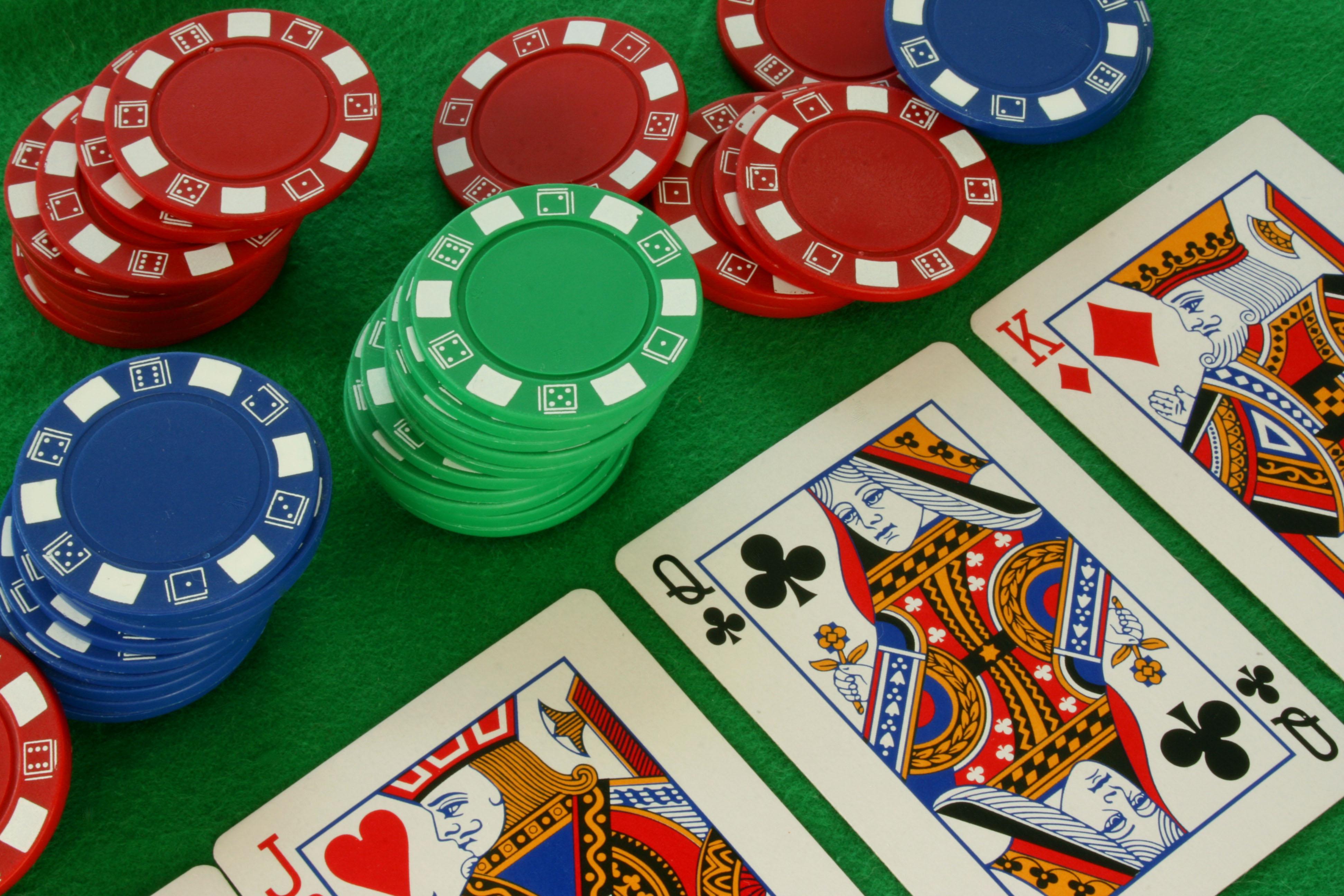 Casino Chips Wallpaper