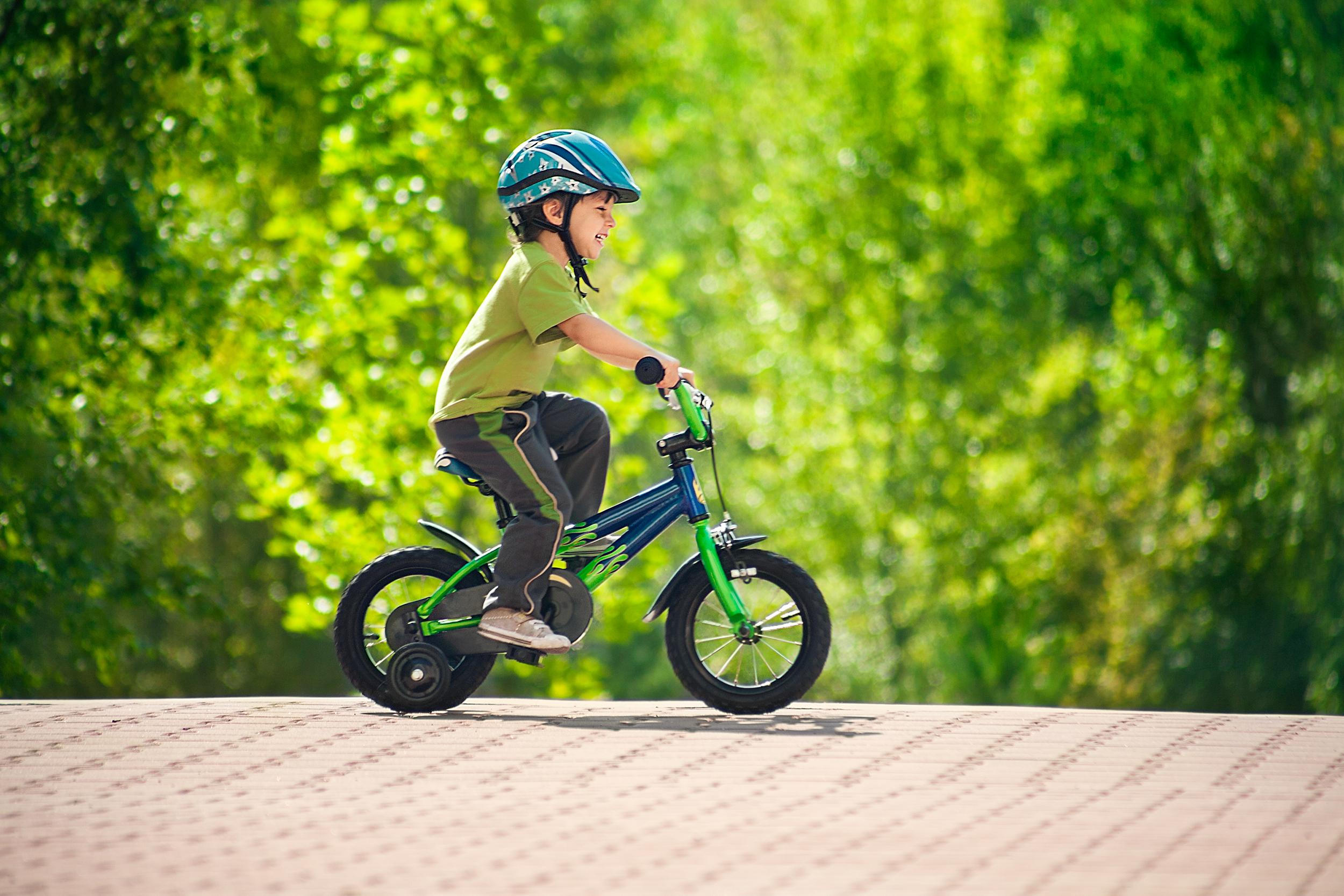 Учимся с ребенком кататься на велосипеде - allWomens 58