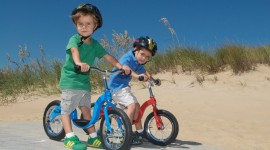 Children On Bicycles Photo DownloadChildren On Bicycles Photo Download