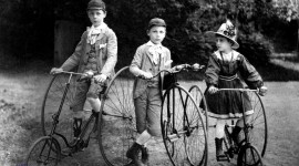 Children On Bicycles Photo#2
