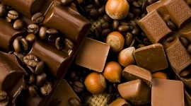 Chocolate Candies Wallpaper Full HD