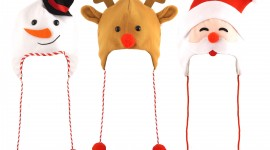 Christmas Hats Best Wallpaper