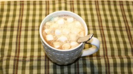 Coffee With Marshmallows High Quality Wallpaper