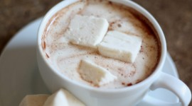 Coffee With Marshmallows Wallpaper