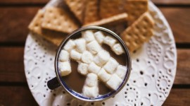 Coffee With Marshmallows Wallpaper For Desktop