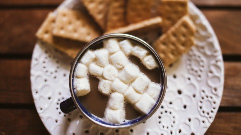 Coffee With Marshmallows wallpapers high quality