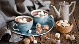 Coffee With Marshmallows Wallpaper For PC