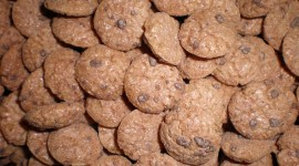 Cookies With Cereals Wallpaper Download Free
