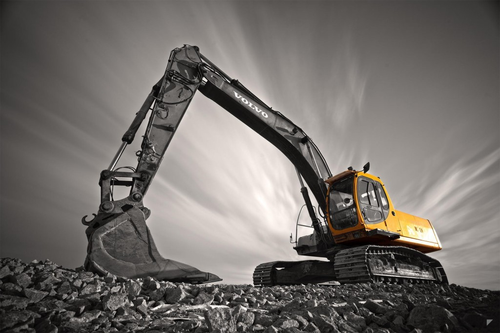 Excavator wallpapers HD