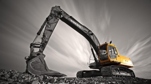 Excavator wallpapers high quality